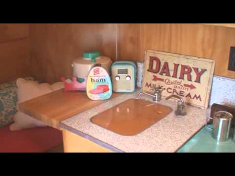 Tour of a 1963 Yellowstone vintage trailer