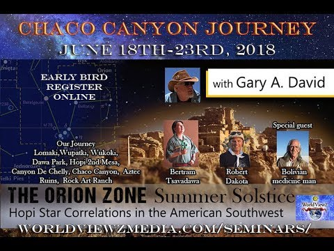 Chaco Canyon Summer Solstice Spirit Journey into the Orion Zone