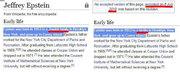Jeffrey Epstein Wikipedia Edit