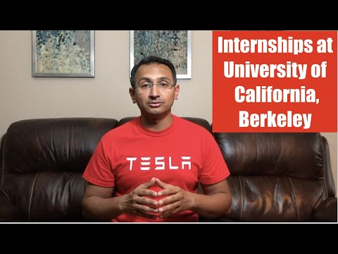 Internships at University of California - Berkeley (Aniket Singh , Intern Abroad This Summer)