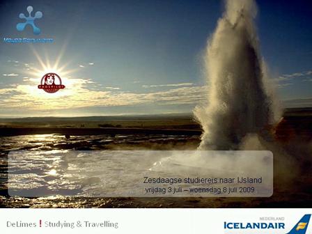Zesdaagse studiereis naar IJsland