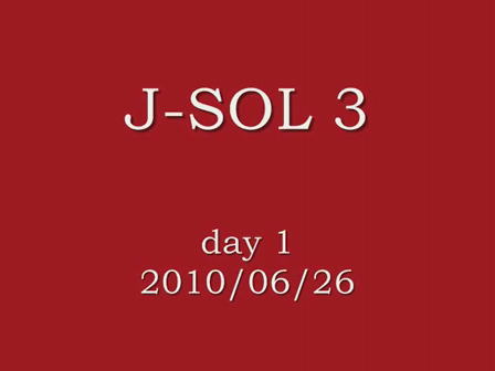 J-SOL3 day1