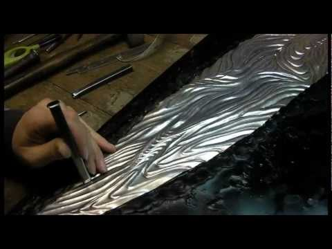 The making of 'Union' by silversmith Miriam Hanid