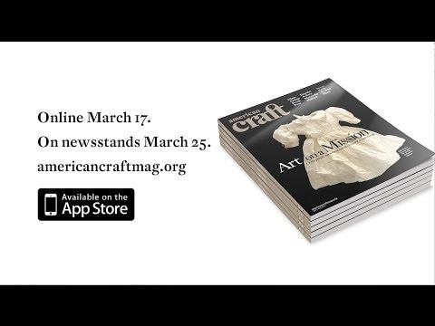American Craft April-May 2014 Trailer