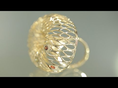 Lionel T Dean's 3D-printed gold collection aims to transform the jewelry industry