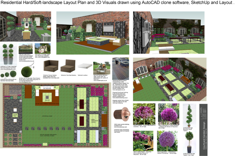 Freelance-Garden-Design-3D-SketchUp-CAD-Visualisation ...