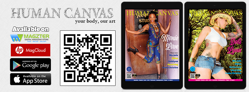 Human Canvas Magazine - Issue #36: Available Now