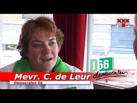 www.amstel1.tv - Catharina de Leur lijsttrekker Democraten 66