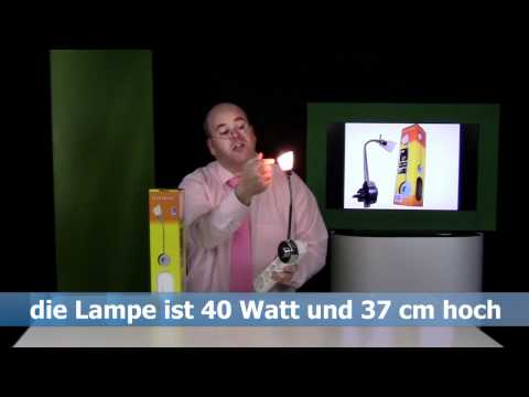 Produkt-Demo-Video Flex Lampe mit Online-Moderator Rene Kogelman