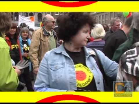 Anti nuclear rally Amsterdam