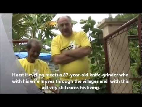 a 87-years-old filipino knife grinder sends christmas greetings