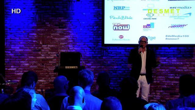 Erik de Zwart op het Zevende Nederlands MediaNetwerk Event over de toekomst van de Radio