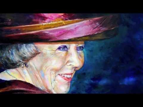 Koningin Beatrix portretgalerij