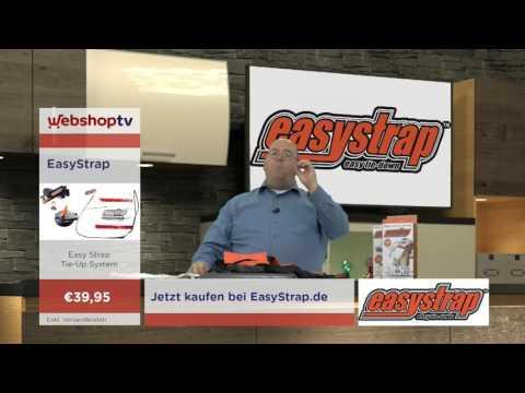 WebshopTV Easystrap Tie Down System Deutsch