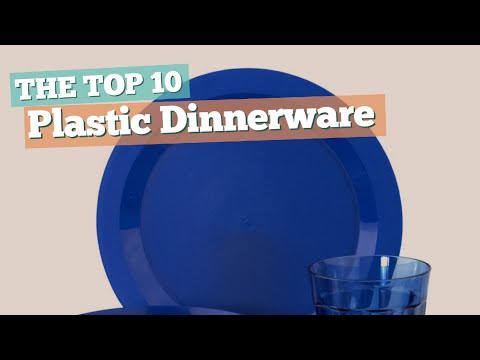 Plastic Dinnerware Sets