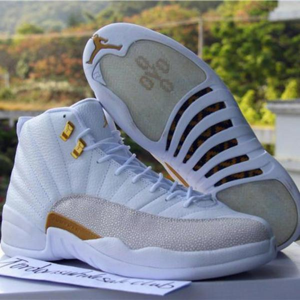 timeless design b3d21 f47c7 Drake's Air Jordan 12 'OVO' White Sneakers Will Reportedly ...