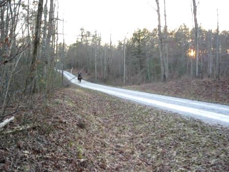 BILL riding THUNDER ROAD