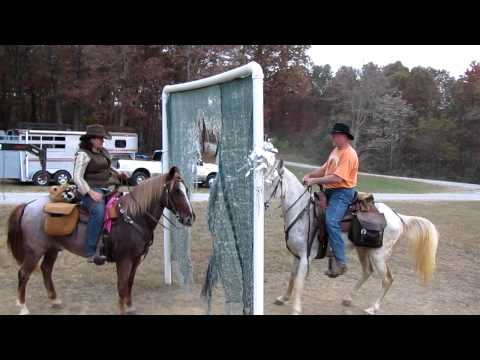 Donnie & R.J. obstacle course at East Fork