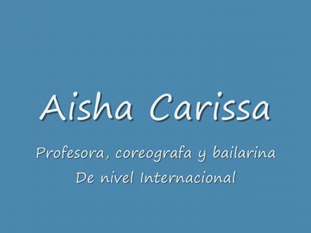 Aisha Carissa, coreografia1