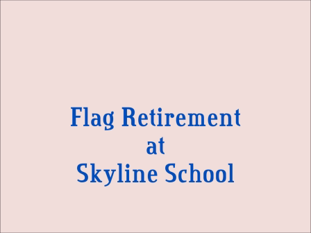 Skyline Flag Retirement