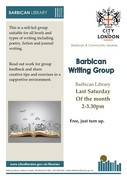 Barbican Writers Group