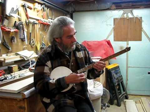 """Beverly Hillbillies"" on one-stringed banjo"