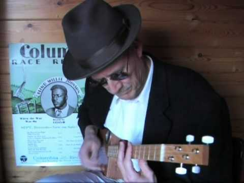 Lord, I Can't Just Keep From Crying - Cigar Box Guitar - Gospel Blues - Blind Wilie Johnson