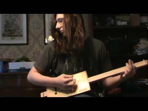 My first Cigar Box Guitar Build. Padron 7000 Delta Blues