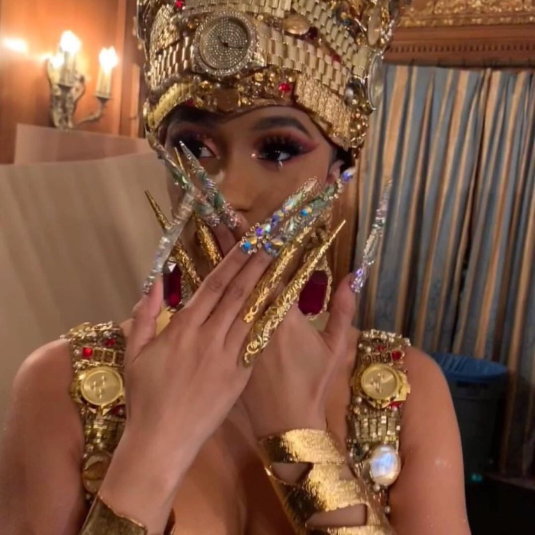 Cardi B S 6 Inch Nails For Money Music Video