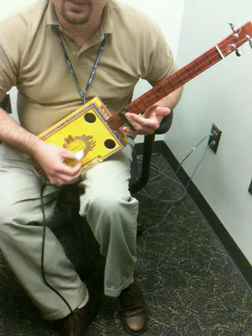 Partagas 3 String Slide played through a Smokey Amp
