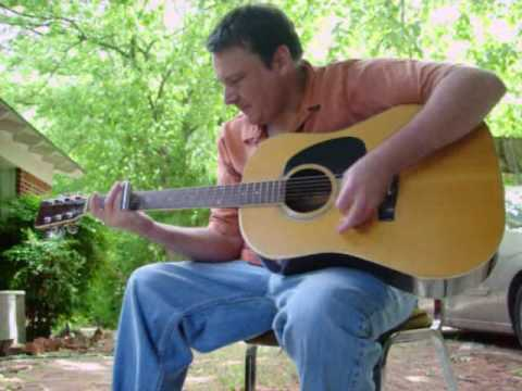 """""""Frantic Gypsy Lost in the Mississippi Delta"""" acoustic slide guitar Mark Stowe"""