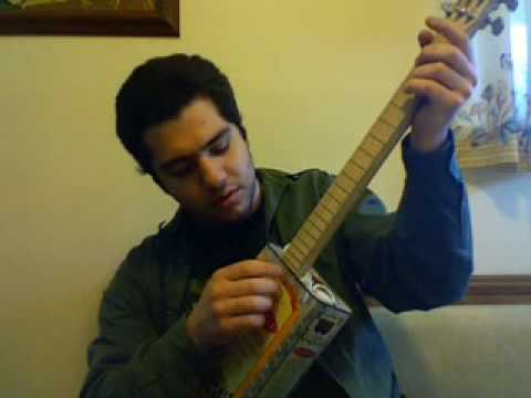Home made Olive Oil guitar