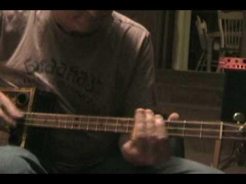 Rollin and Tumblin Cigar Box Guitar Slide Blues