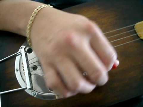 Cigar box guitar blues - teste de timbre 01