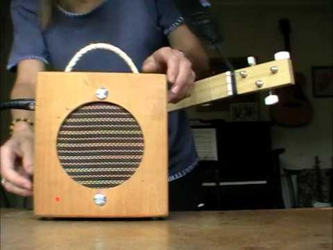 2nd Home Made Cigar Box Amp - Sound Test