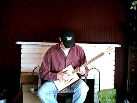 4-string cigar box guitar