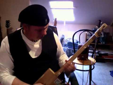 Back in Black Cigar Box Guitar.mov