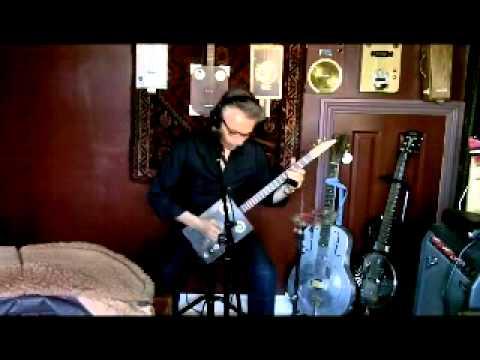 Golden Rule - New tune demo on cigar box guitar