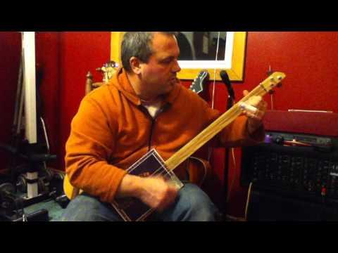 cigar box guitar clean Tony T.