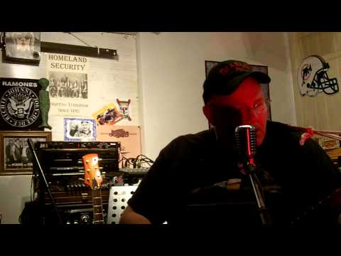 I wanta be your Dog Iggy Pop cover By Ice Bob cigarbox guitar