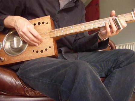 cat bowl guitar 3 string