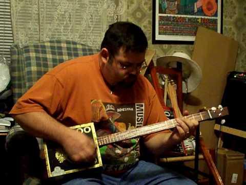 cigar box guitar #159 by back porch mojo
