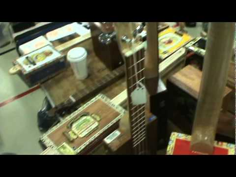 Cigar Box Odyssey Part Three: Things get going and very loud