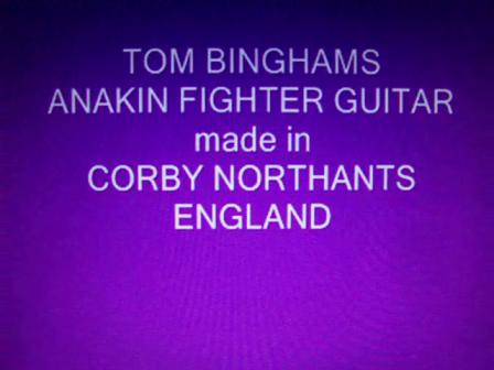 My Anakin Guitar