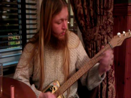Sean playing the Montecristo 3 string.