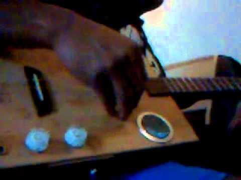 """Essai Paint  Box guitar """"total impro"""""""