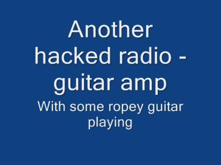 grundig radio amp