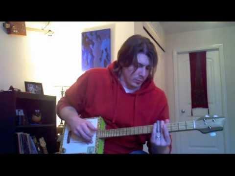 Macanudo 3 String Cigar Box Guitar