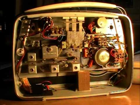 Vintage Bush Radio to Amp Conversion