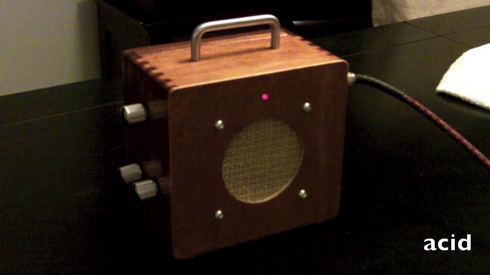 Cigar Box Amp - Acid